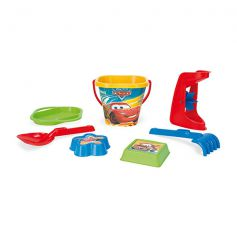 Wader Bucket Set Disney Cars 7 Pcs