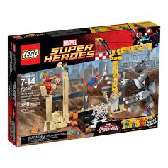 Rhino and Sandman Super Villain Team-up