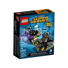 Mighty Micros: Batman vs. Catwoman