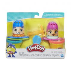 Play-Doh Fuzzy Pumper Create and Cut Barber Set