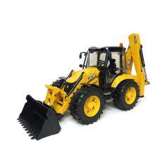 Bruder Tractor JCB 5CX With Dredger