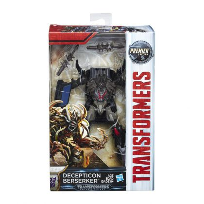 Transformers The Last Knight Premier Edition Deluxe Decepticon Berserker