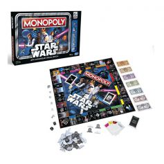 Hasbro Monopoly Star Wars 40th Anniversary Edition Game