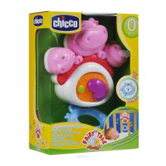 Chicco 3 Little Pigglets Mustical Cot Toy
