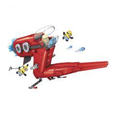 Mega Bloks Minions Movie Supervillain Jet Vehicle