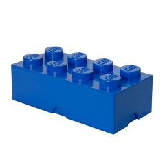 Lego Storage Brick 8 Blue - DC001029