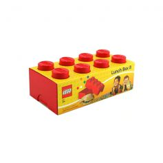 Lego Lunch Box Red - DC02542