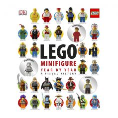 DK Lego Minifigure Year by Year Visual History Hardcover Book