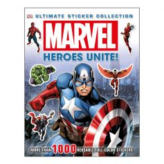 DK Marvel Heroes Unite! Ultimate Sticker Collection Book