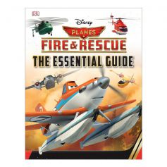 DK Disney Planes Fire and Rescue Essential Guide Hardcover Book