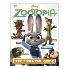 DK Disney Zootopia The Essential Guide Hardcover Book
