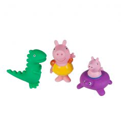 Jazwares Peppa Pig Bath Squirtees Peppa, George and Dino