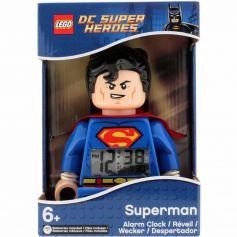 Superman Minifigure Alarm Clock