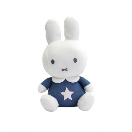 Tiamo Miffy Denim Cuddle 32 cm Blue