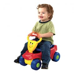 Fisher Price 2-In-1 Wagon Rider Ride-On Wagon Red