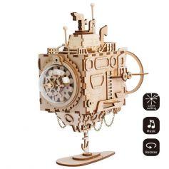 ROBOTIME Steampunk Music Box-Submarine