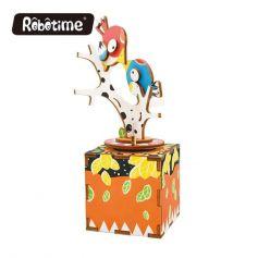 Robotime DIY Music Box-Bird and Tree