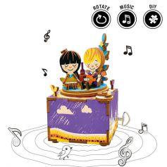 ROBOTIME DIY Music Box-Summer Day