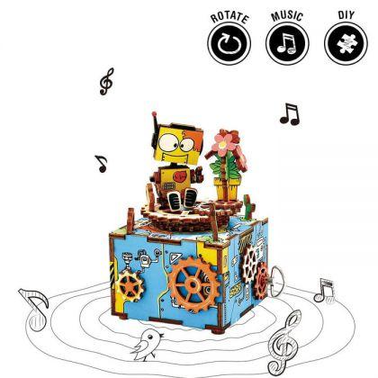 ROBOTIME DIY Music Box-Machinarium