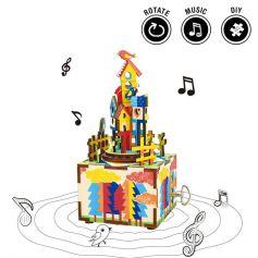 ROBOTIME DIY Music Box-Castle in the sky