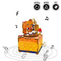 ROBOTIME DIY Music Box-Love Story