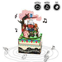 ROBOTIME DIY Music Box-Forest Concert