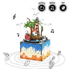 ROBOTIME DIY Music Box-Vocational Island