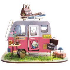 ROBOTIME DIY Mini Dollhouse Building Model Home Decoration toys