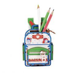 ROBOTIME DIY DESK ORGANIZER Backpacker- Penholder