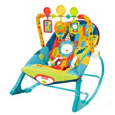 Fisher Price Infant to Toddler Blue Rocker