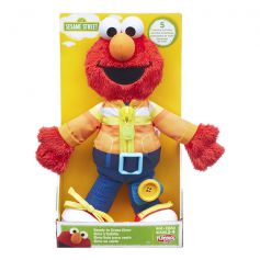 Playskool Sesame Street Ready to Dress Elmo Plush - B6952