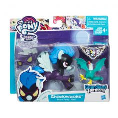 My Little Pony Guardians of Harmony Shadowbolts Pony and Cockatrice