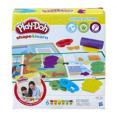 Play Doh Shape and Learn Shape A Story - B9015