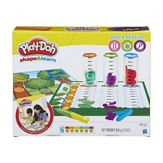 Play Doh Shape and Learn Make and Measure - B9016