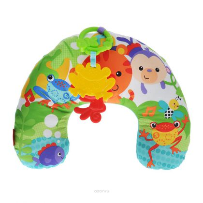 Fisher Price Rainforest Friends Comfort Vibe Play Wedge