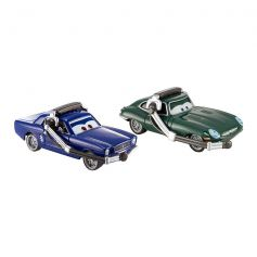 Disney Cars Brent Mustangburger With Headset & David Hobscapp With Headset