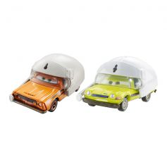 Disney Cars Grem With Helmet & Acer With Helmet