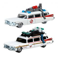 Hot Wheels Retro Series Ghostbusters Die-Cast Vehicle 2-Pack