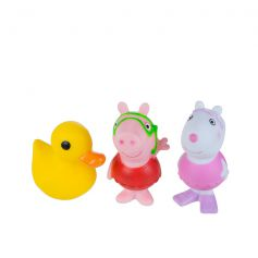 Jazwares Peppa Pig Bath Squirtees Peppa, Suzy and Quack