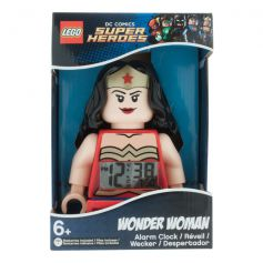 Wonder Woman Minifigure Alarm Clock