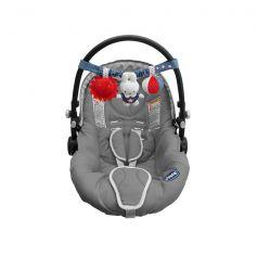 Tiamo Miffy Denim Car Seat Toy Blue