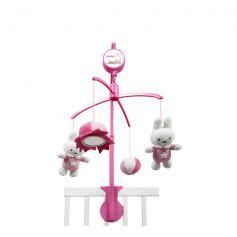 Tiamo Miffy Denim Music Mobile Pink
