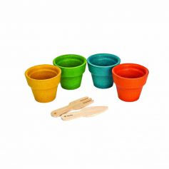 Flower Pot Set (4 Sets Per Pack)
