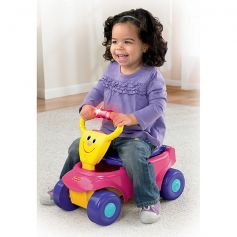 Fisher Price 2-In-1 Wagon Rider Ride-On Wagon Pink